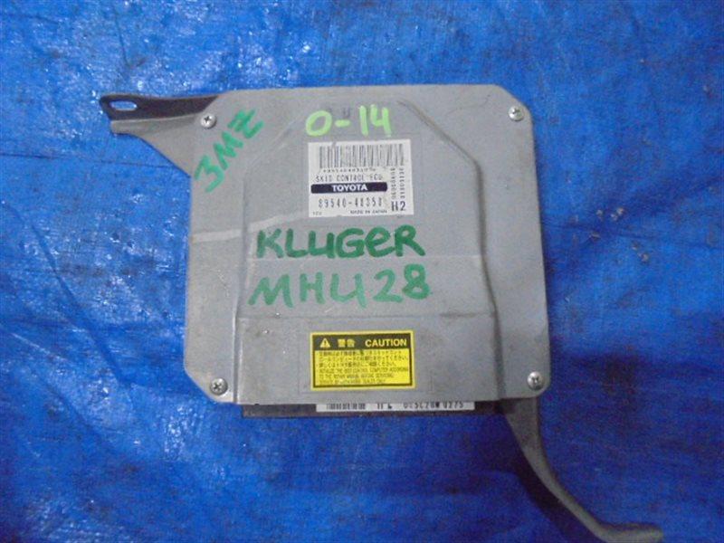 Электронный блок Toyota Kluger MHU28 3MZ-FE (б/у)