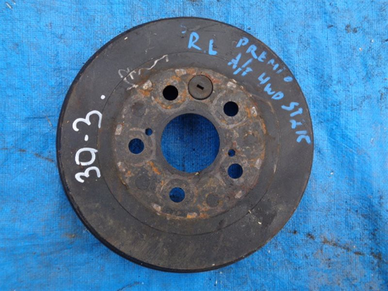 Тормозной барабан Toyota Premio ST215 3S-FE задний левый (б/у)