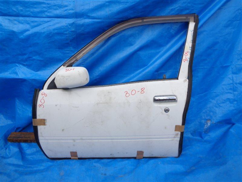 Дверь Toyota Starlet EP91 передняя левая 5DOOR (б/у)