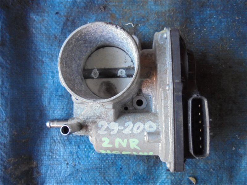 Дроссельная заслонка Toyota Spade NSP141 2NR-FKE 22030-21040 (б/у)