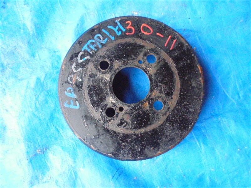 Тормозной барабан Toyota Starlet EP95 4E-FE задний левый (б/у)
