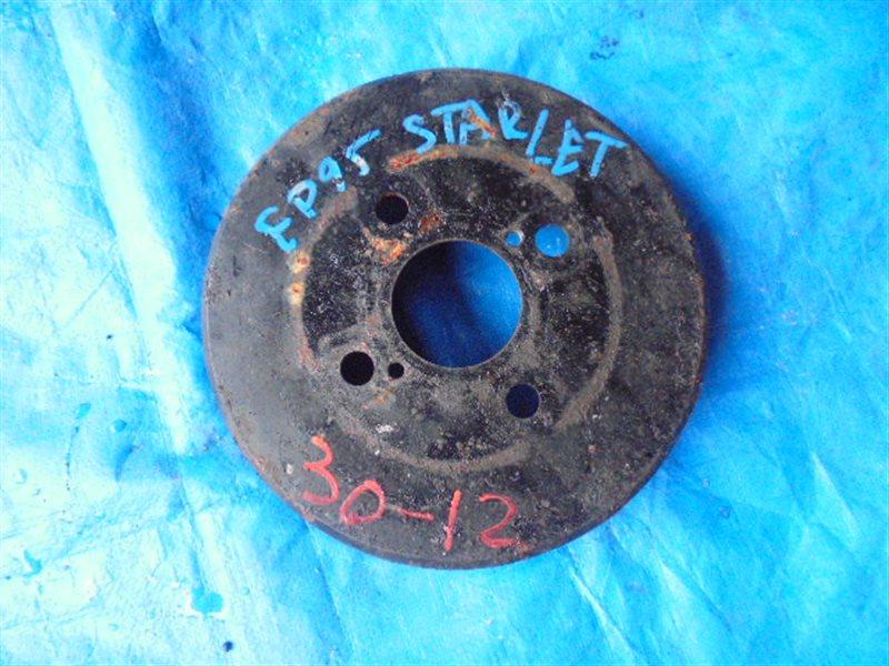 Тормозной барабан Toyota Starlet EP95 4E-FE задний правый (б/у)