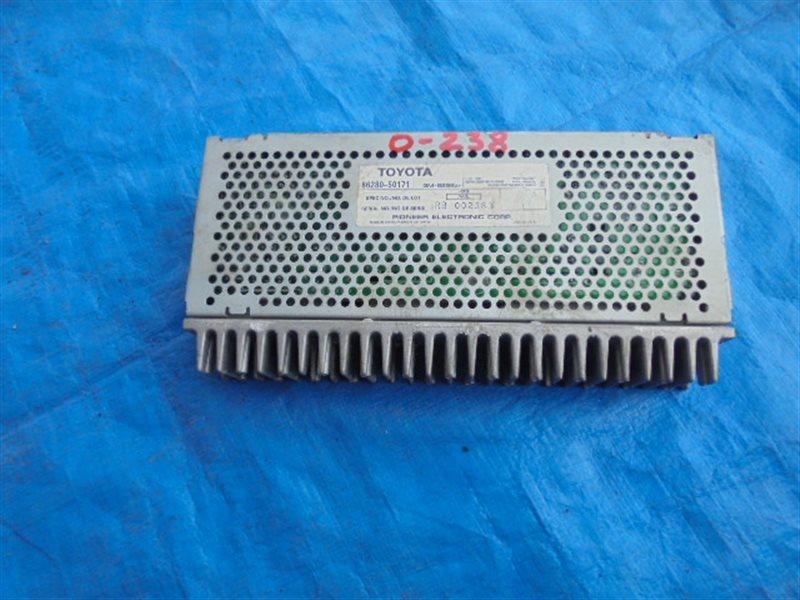 Усилитель магнитофона Toyota Celsior UCF21 1UZ-FE 86280-50171 (б/у)