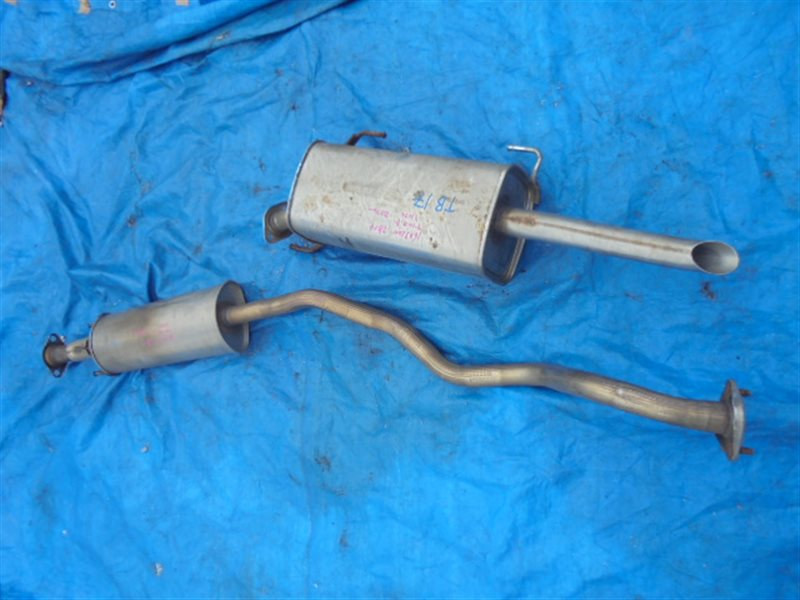 Глушитель Nissan Sylphy TB17 MRA8 (б/у)