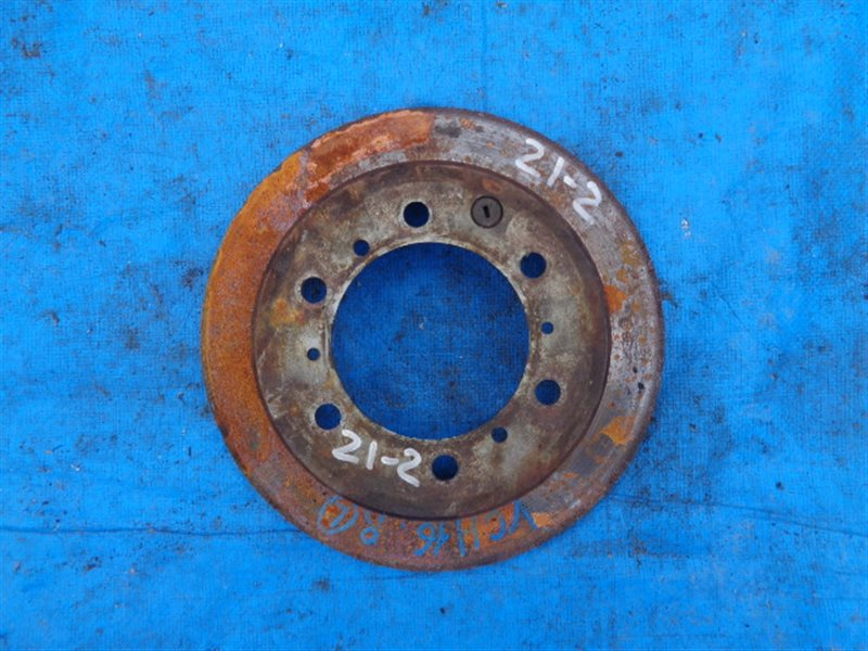 Тормозной диск Toyota Grand Hiace VCH16 задний (б/у)