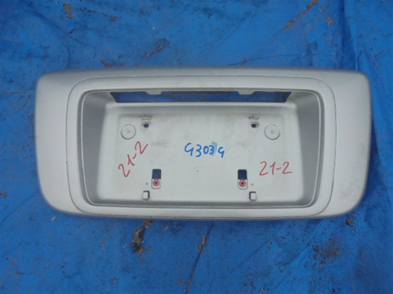 Рамка для номера Daihatsu Pyzar G303G (б/у)
