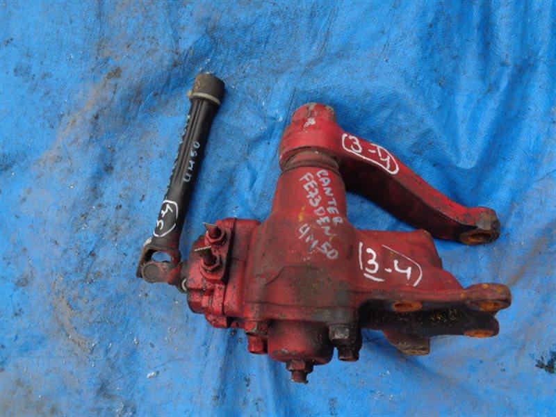Рулевой редуктор Mitsubishi Canter FE73DEN (б/у)