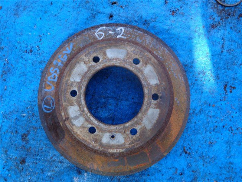 Тормозной диск Isuzu Bighorn UBS73DW задний (б/у)