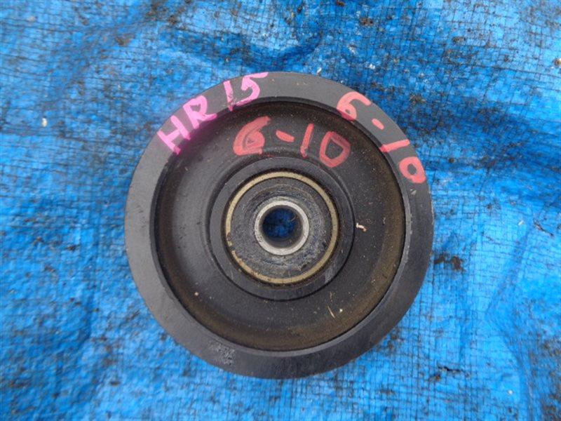 Ролик натяжной Nissan Tiida NC11 HR15DE (б/у)