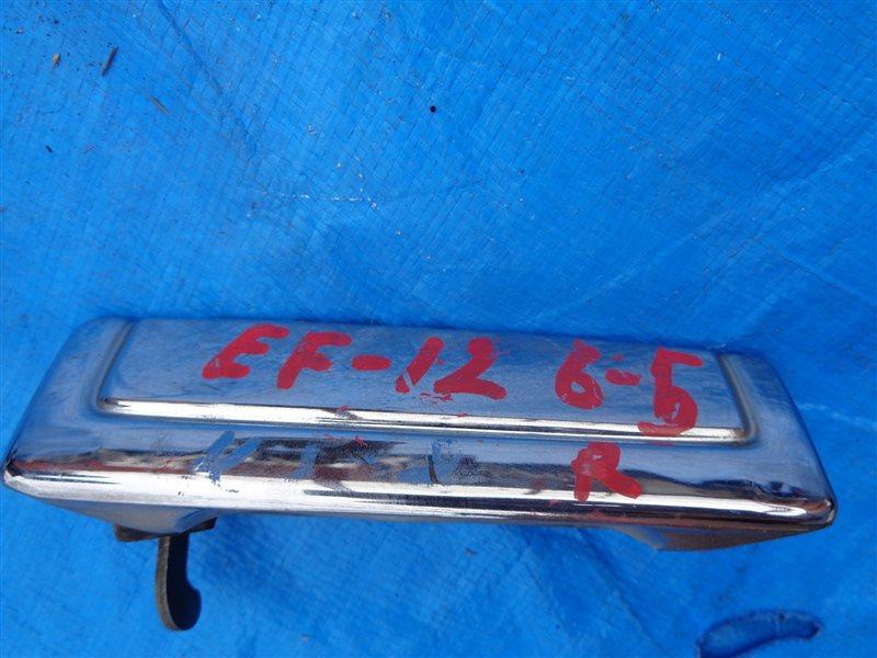 Ручка двери Subaru Domingo KJ8 задняя правая (б/у)
