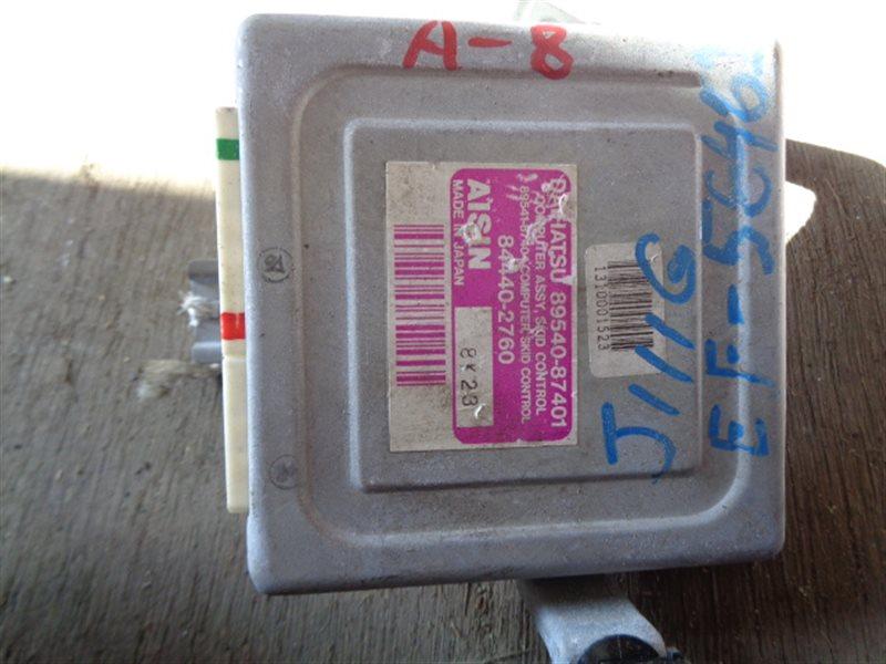 Блок управления abs Daihatsu Terios Kid J111G EF-DEM 84440-2760 (б/у)