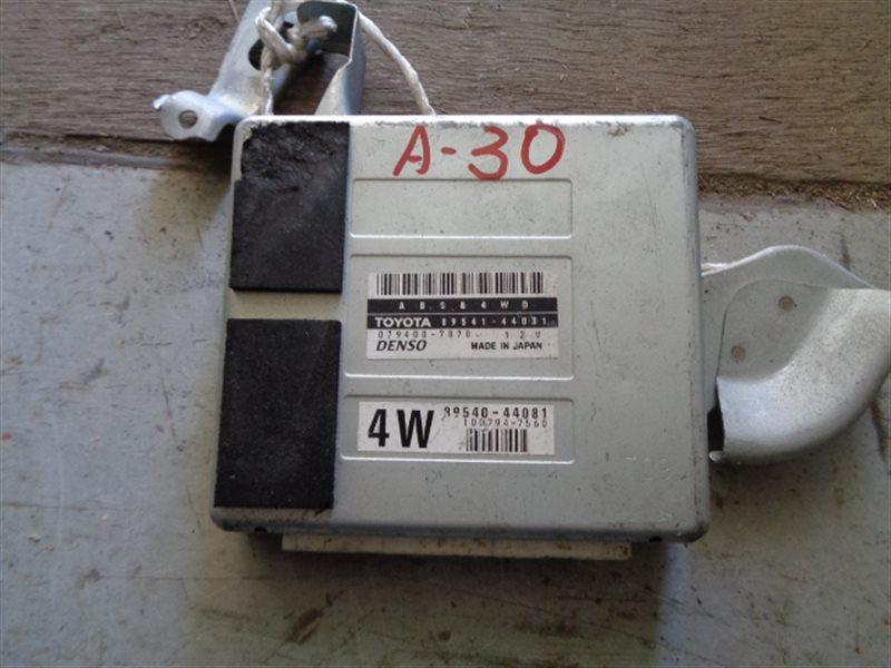 Блок управления abs Toyota Ipsum SXM15 3S-FE 079400-7870 (б/у)