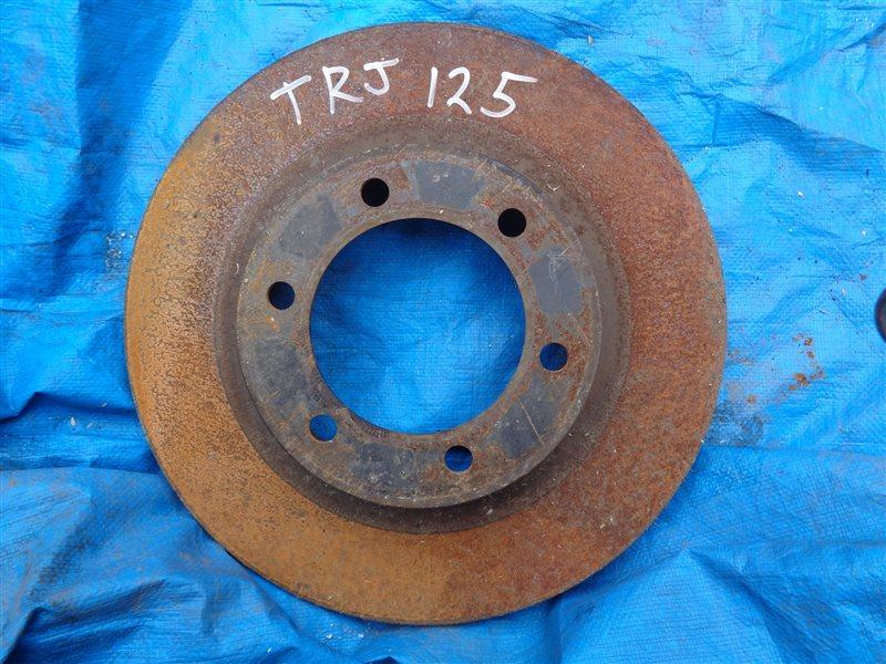 Тормозной диск Toyota Prado TRJ125 передний (б/у)