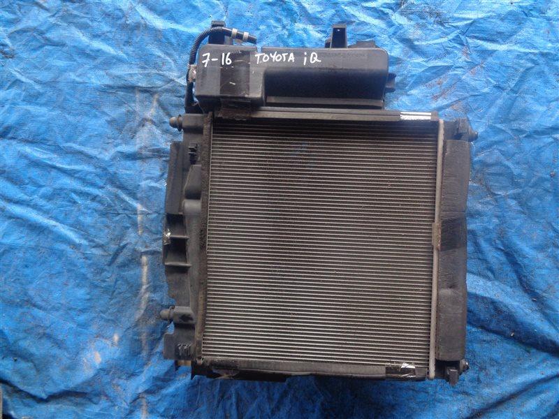 Радиатор основной Toyota Iq KGJ10 1KR-FE (б/у)