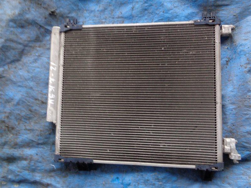 Радиатор кондиционера Toyota Iq KGJ10 (б/у)