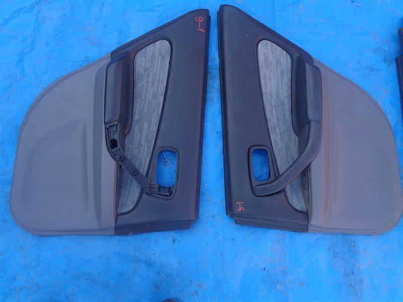 Обшивка дверей Nissan Skyline ER34 задняя левая (б/у)