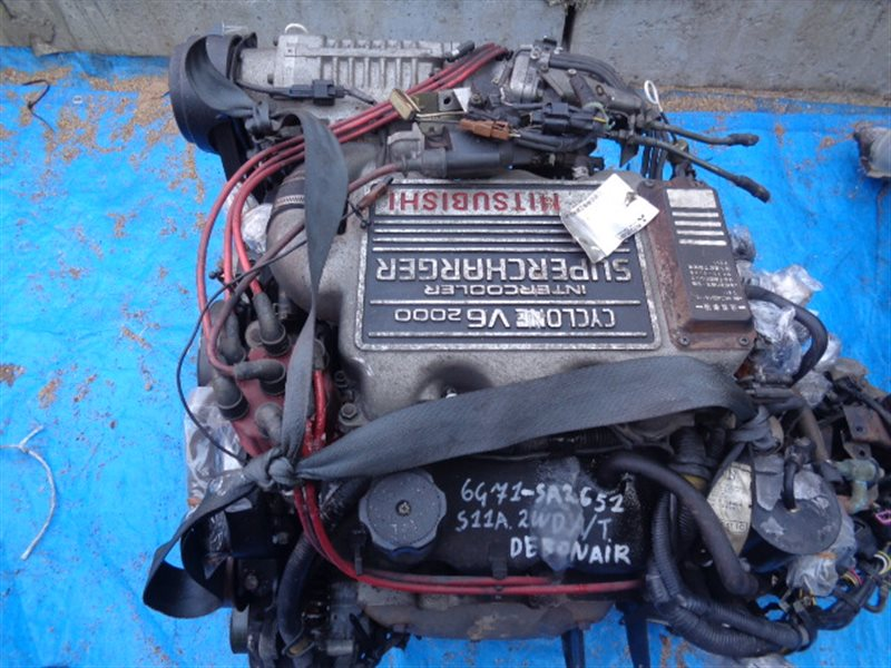 Двигатель Mitsubishi Debonair S11A 6G71 SA2651 SUPERCHARGER (б/у)