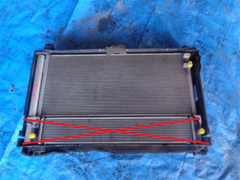 Радиатор основной Toyota Prius Alpha ZVW40 (б/у)