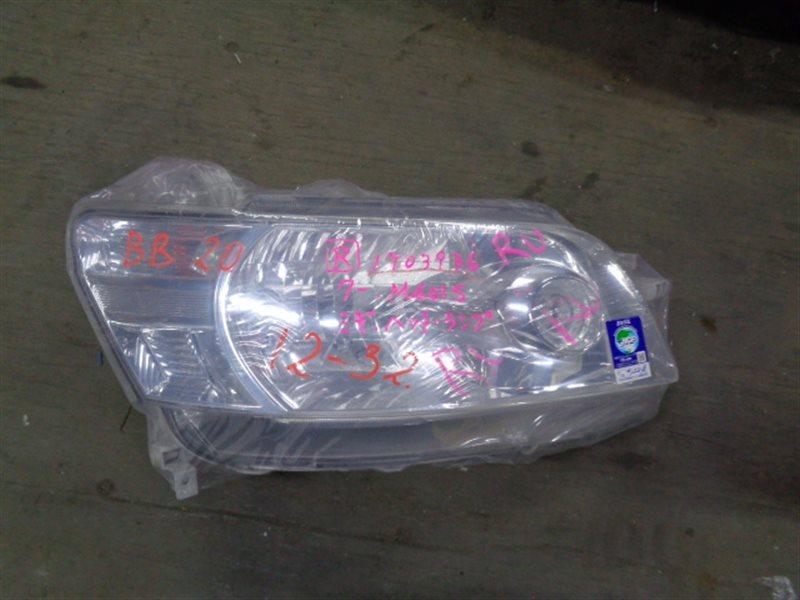 Фара Toyota Bb QNC20 правая 100-51858 (б/у)