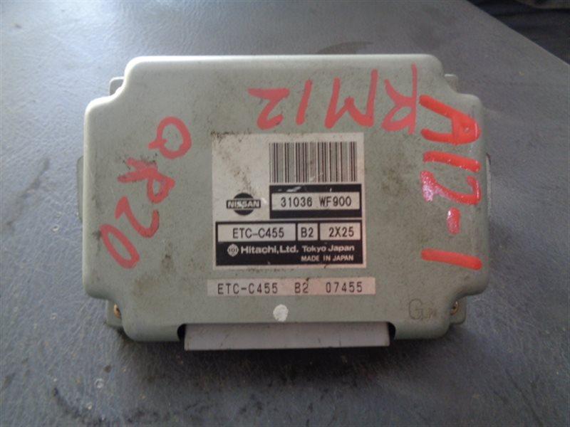 Блок управления акпп Nissan Liberty RM12 QR20DE ETC-C455 (б/у)
