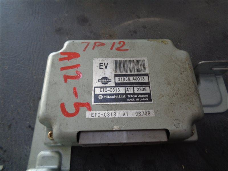 Блок управления акпп Nissan Primera TP12 QR20DE ETC-C313 (б/у)