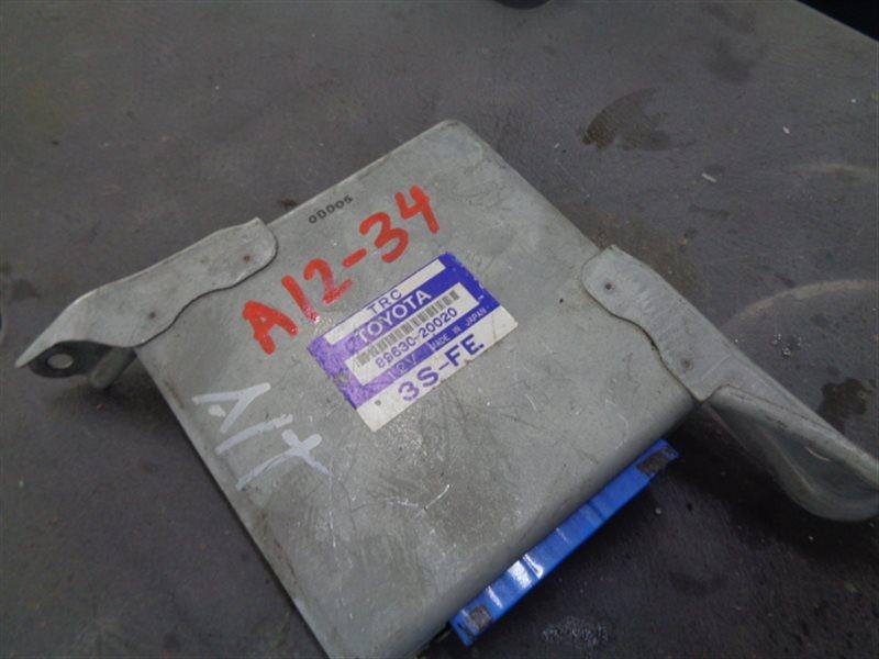 Блок управления trc Toyota 89630-20020 (б/у)