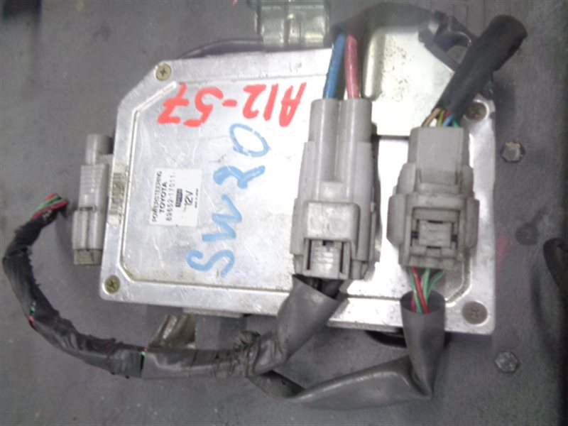 Электронный блок Toyota Mr-2 SW20 А12-57 89652-17011 (б/у)