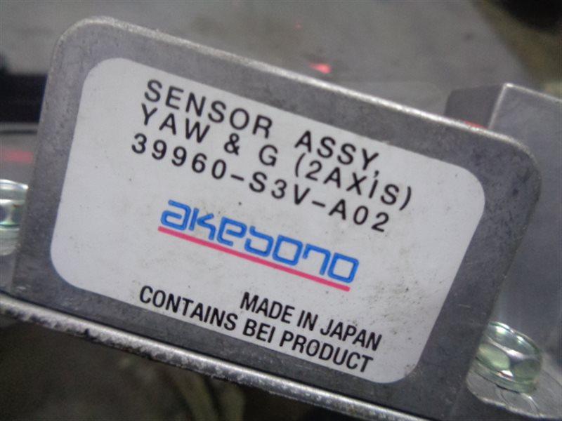 Датчик ускорения Honda Legend KB1 39960-S3V-A02 (б/у)
