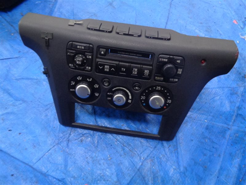 Блок управления климат-контролем Mitsubishi Airtrek CU5W MR460671, MR480884HB (б/у)