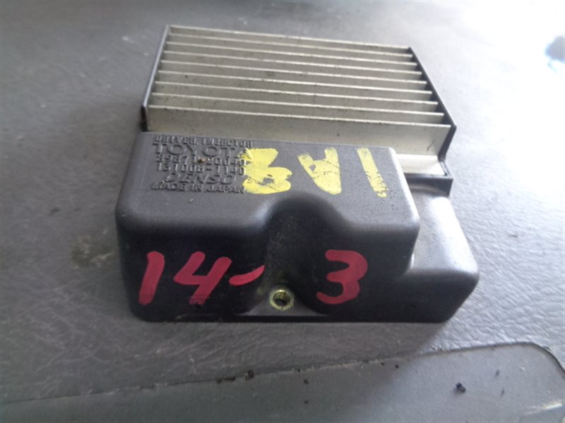 Блок управления форсунками Toyota Gaia ACM10 1AZ-FSE 89871-20040 (б/у)