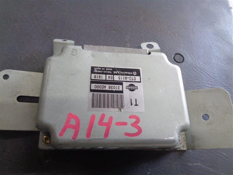 Блок управления акпп Nissan Presage TNU30 QR25DE ETC-A115 (б/у)