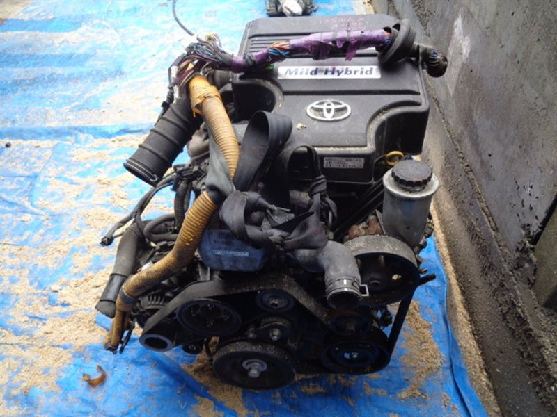 Двигатель Toyota Crown Comfort GBS12 1G-FE 7105212 (б/у)