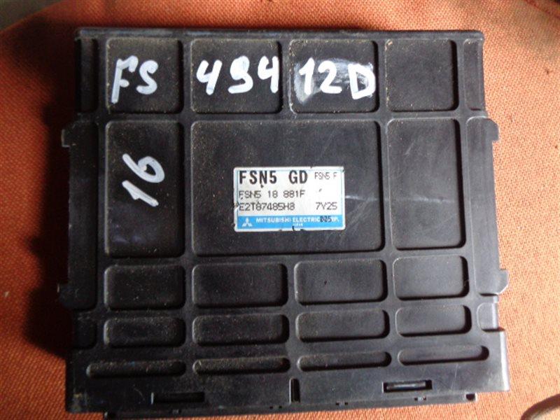 Блок efi Mazda Capella GF8P FS (б/у)