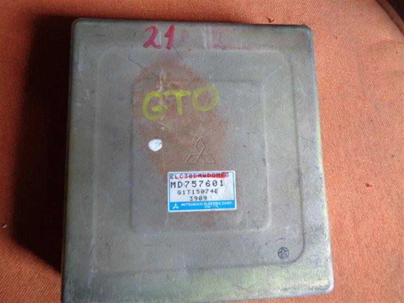 Блок efi Mitsubishi Gto Z16A 6G72 MD757601 (б/у)
