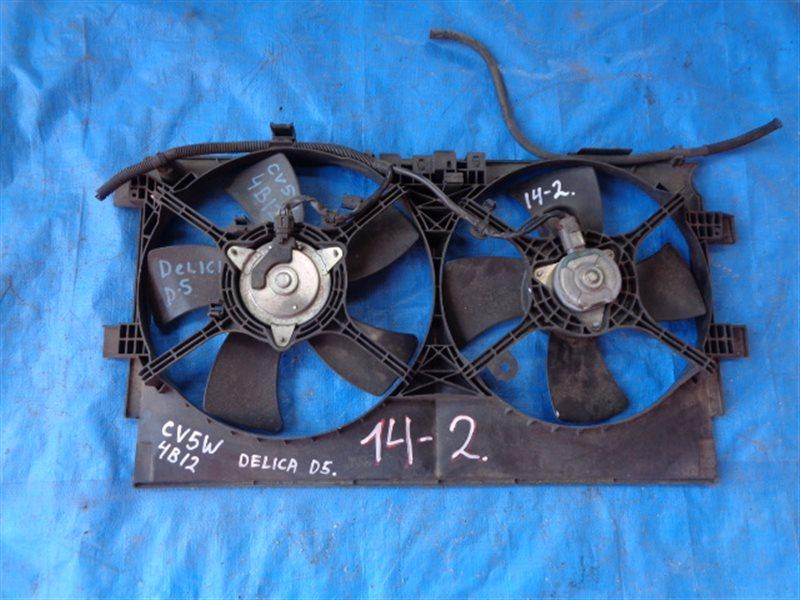 Диффузор радиатора Mitsubishi Delica D5 CV5W 4B12 (б/у)