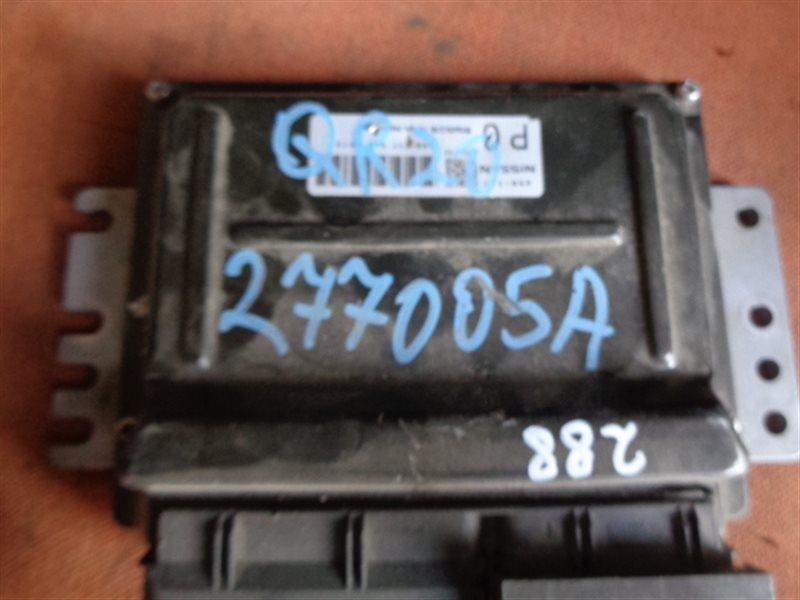 Блок efi Nissan Liberty RM12 QR20DE A56-T17 (б/у)