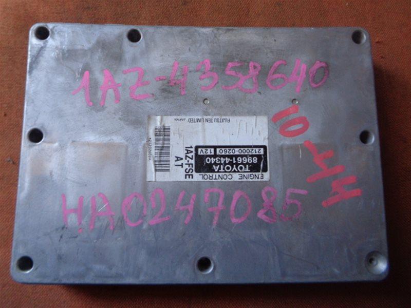 Блок efi Toyota Gaia ACM15 1AZ-FSE 89661-44340 (б/у)