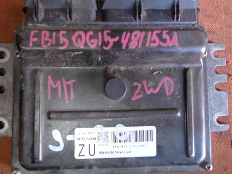 Блок efi Nissan Sunny FB15 QG15DE A56-W22 (б/у)