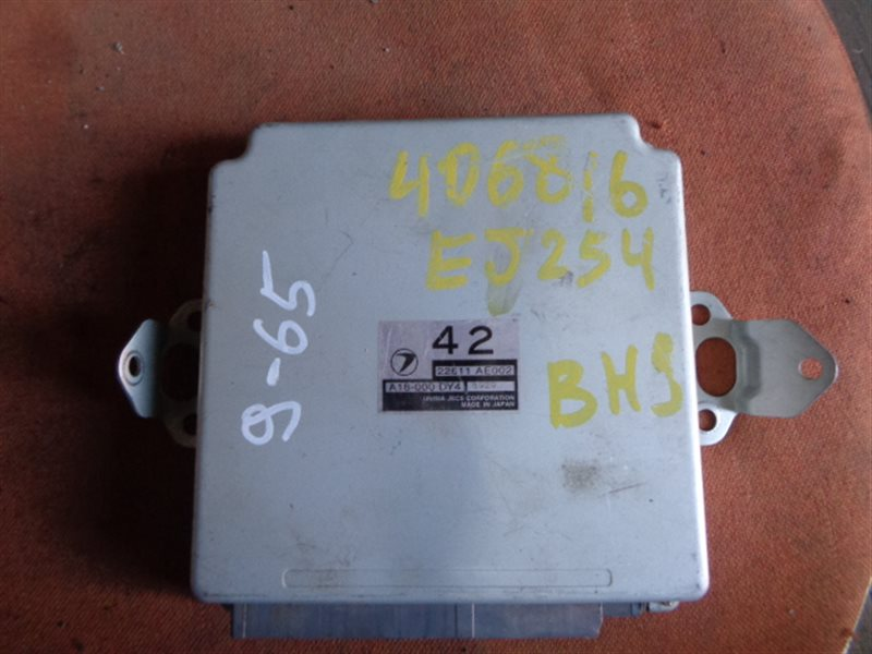 Блок efi Subaru Lancaster BH9 EJ254 A18-000 DY4 (б/у)