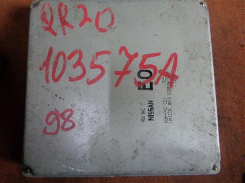 Блок efi Nissan Primera TNP12 QR20DE A56-Q42 (б/у)