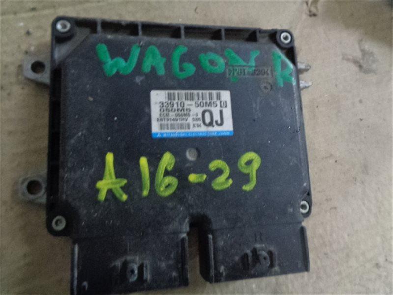 Блок efi Suzuki Wagon R MH34S R06A E6T91491HV (б/у)