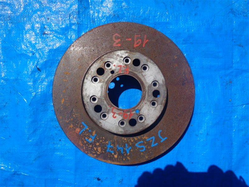 Тормозной диск Toyota Crown Majesta JZS147 2JZ-GE передний левый (б/у)