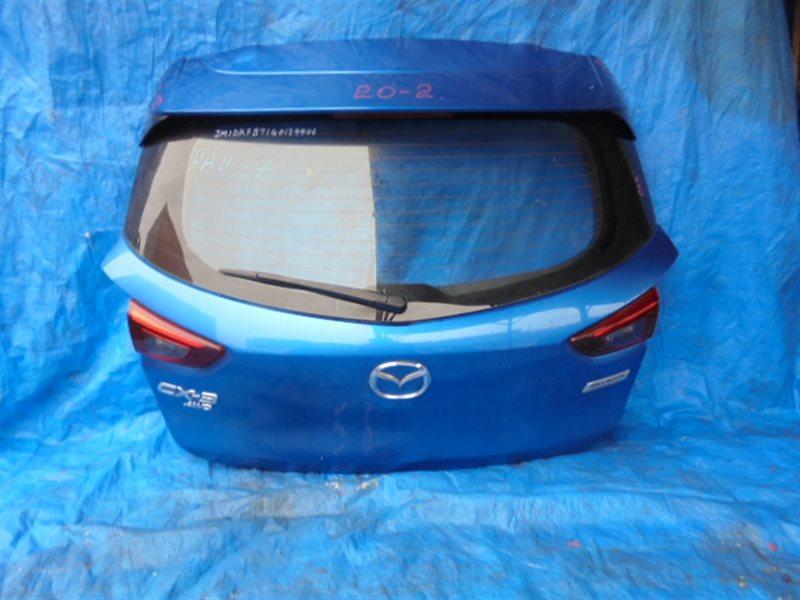 Дверь задняя Mazda Cx-3 DKEAW (б/у)
