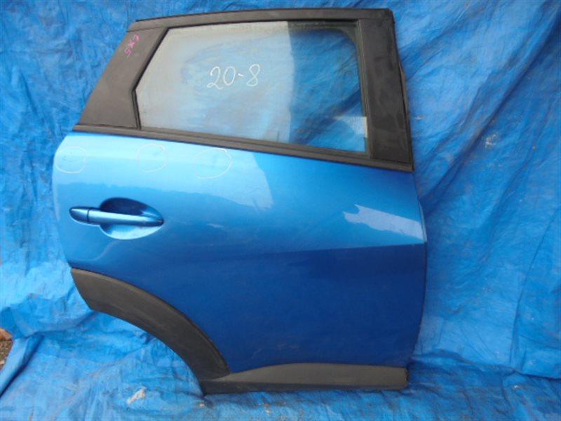 Дверь Mazda Cx-3 DK8AW задняя правая (б/у)