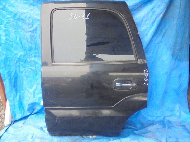 Дверь Cadillac Escalade II LQ9 2002 задняя левая (б/у)