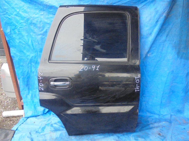 Дверь Cadillac Escalade II LQ9 2002 задняя правая (б/у)