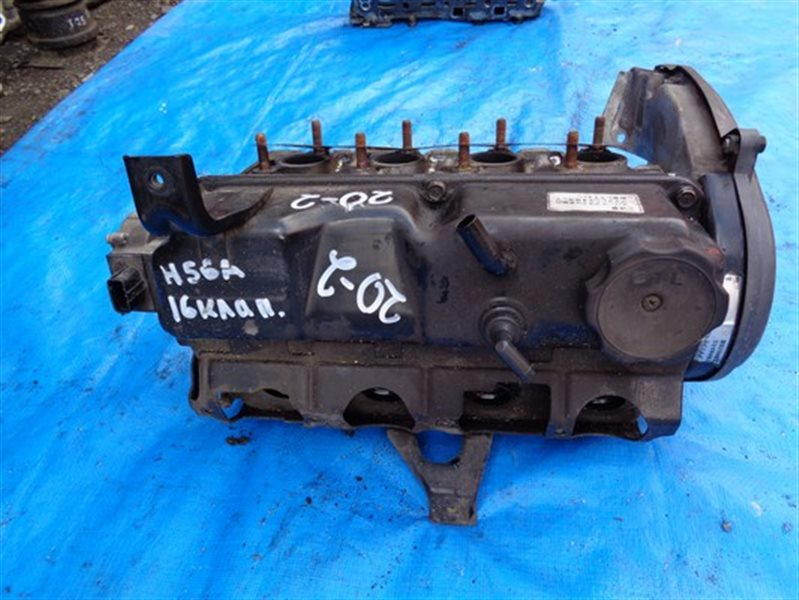 Головка блока цилиндров Mitsubishi Pajero Mini H56A 4A30T 16VALVE (б/у)