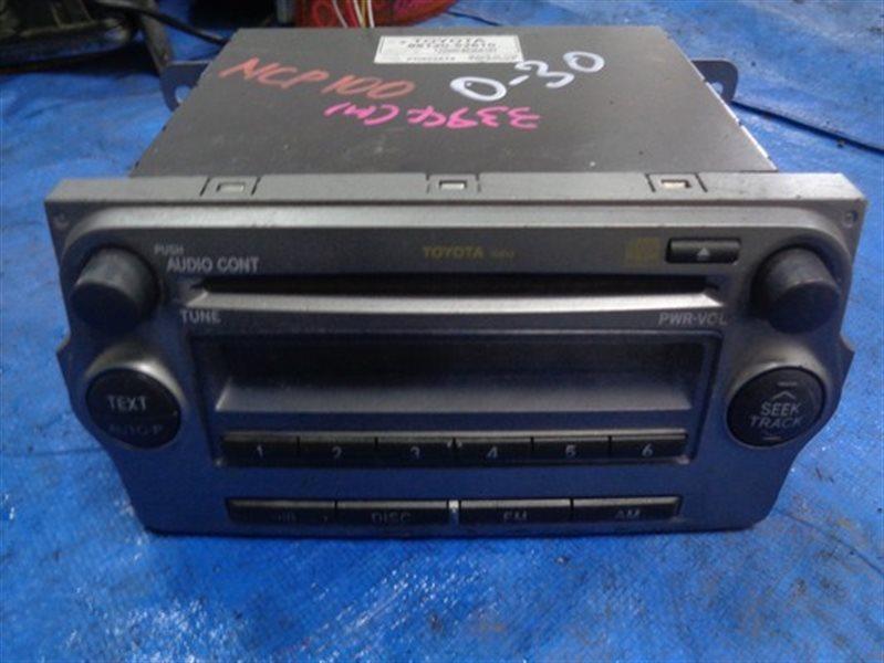 Магнитофон Toyota Ractis NCP100 1NZ-FE (б/у)