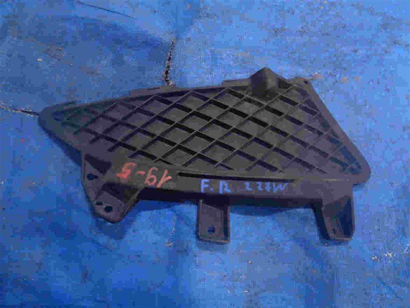 Решетка бамперная Mitsubishi Colt Z27A 4G15 правая (б/у)