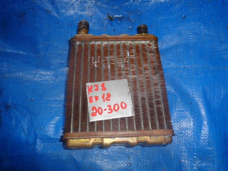 Радиатор печки Subaru Domingo KJ8 EF12 (б/у)